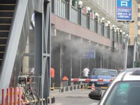 工厂铁皮厂房喷雾降温工程承接