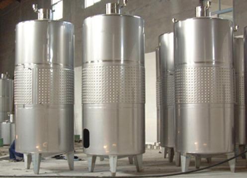 不锈钢发酵罐应具有适宜的高径比