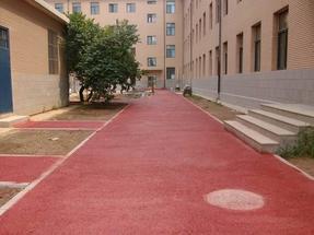 市政园林彩色透水路面胶结料