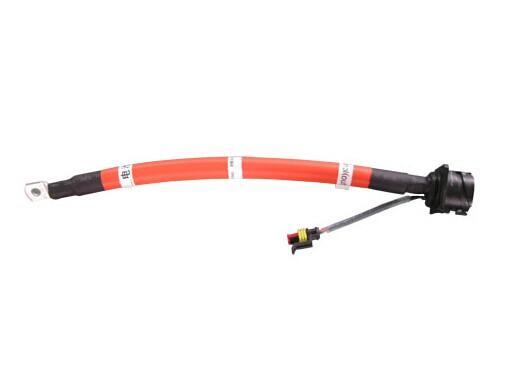 上海纯电动汽车电缆线束蓄电池电缆橙色电缆