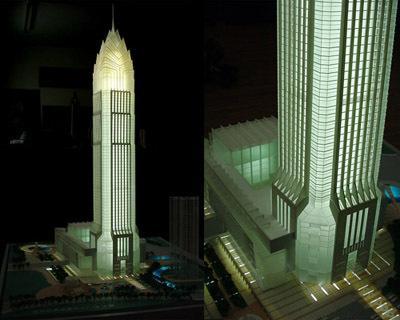 单体模型;温州世贸中心