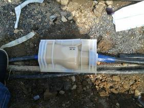 路灯电缆地埋防水接线盒GHFST-1 埋地灌胶式防水接线盒