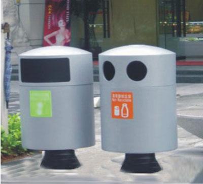 外钢制分类垃圾桶