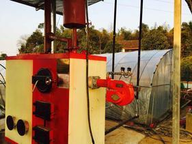 数控地暖锅炉 新型燃气燃煤两用供暖锅炉