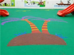 塑胶跑道塑胶球场幼儿园塑胶地面