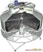节能型钢结构框架方形逆流式玻璃钢冷却塔