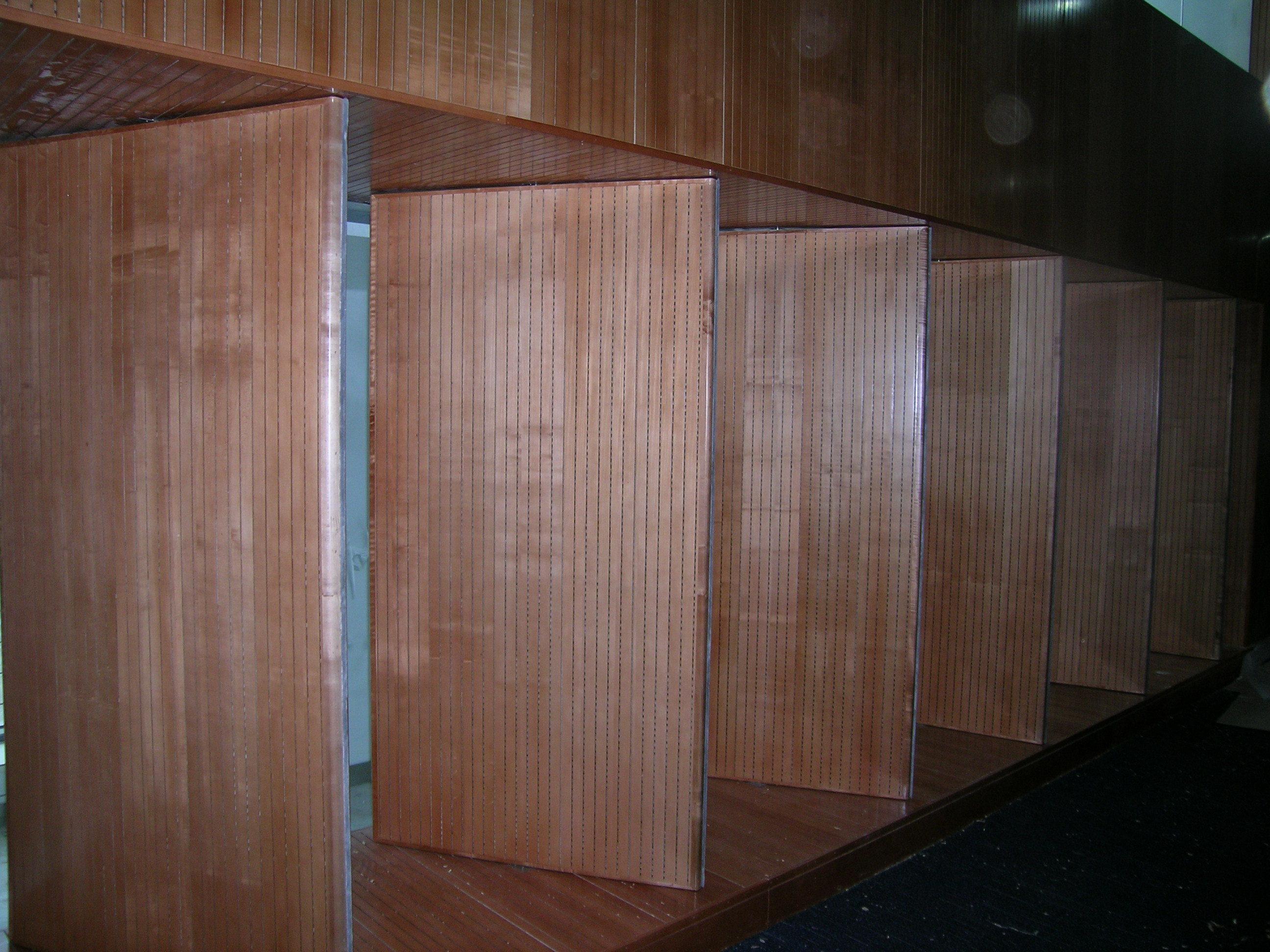 木质吸音门