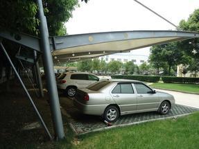 常州膜结构车棚 停车棚膜结构 汽车棚膜结构