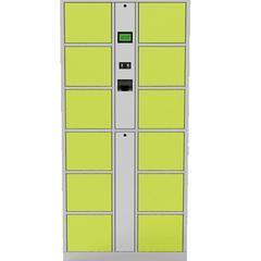 智能储物柜 指静脉识别员工存包柜 办公智能存储柜 指静脉识别柜