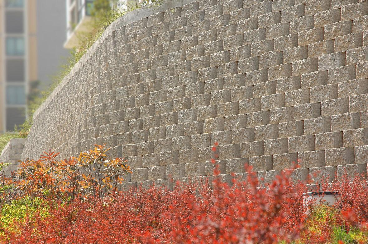 挡土墙垂吊植物ps素材