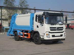 程力威8吨压缩式垃圾车 陕汽12立方后装垃圾压缩车