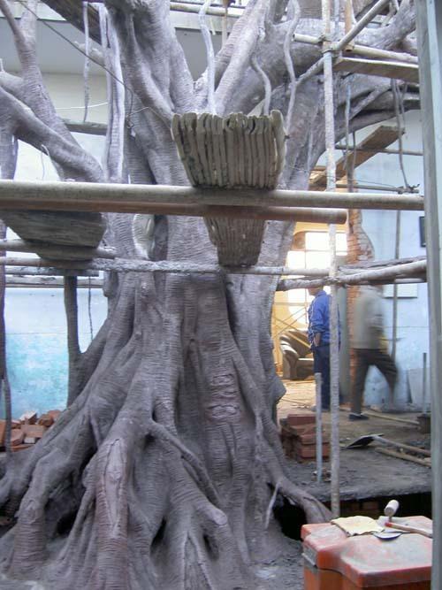 园林雕塑|仿木亭桥|巨型浮雕|花盆|玻璃钢(frp)