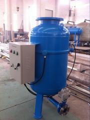 中央空调循环水搭配全程水处理器除污除垢