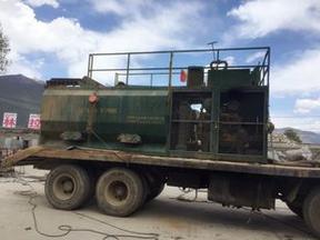 KP60客土液压喷播机