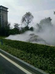 喷雾降温|园林景观人造雾|园林喷淋灌溉
