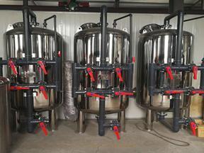 不锈钢304机械过滤器石英砂活性炭填料水处理过滤设备