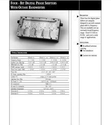 4位数字移相器0.5-8GHz
