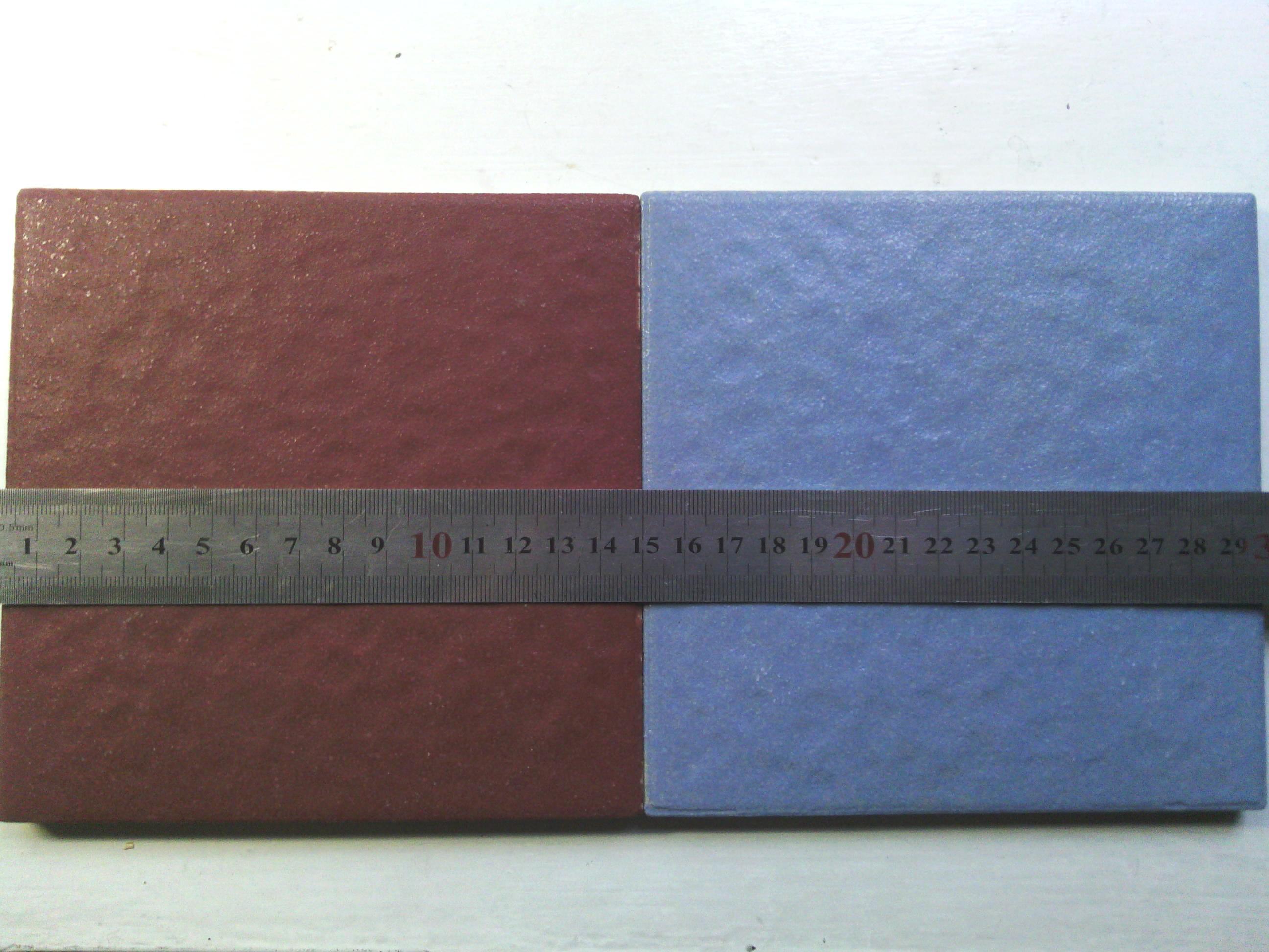 蓝色马赛克贴图广场砖高清素材