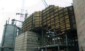 嘉峪关电厂炉架钢结构防腐