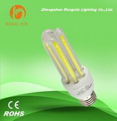 工矿灯光源 220V节能灯led玉米灯12W