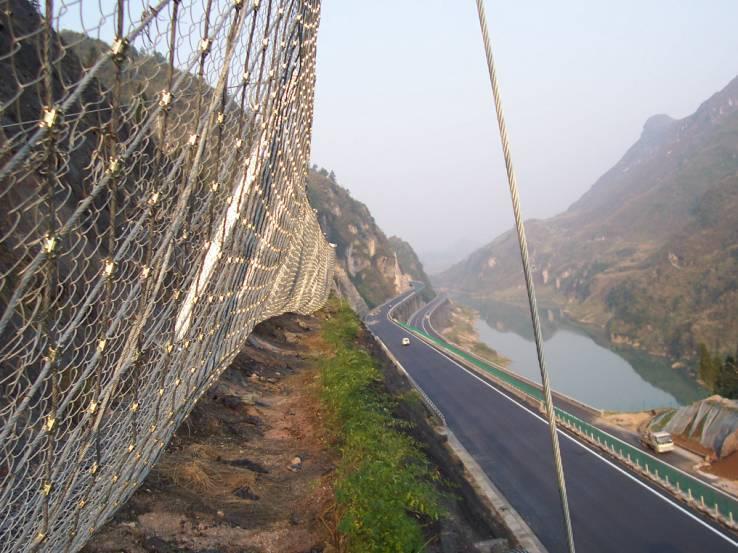 sns边坡防护网(柔性被动防护网)