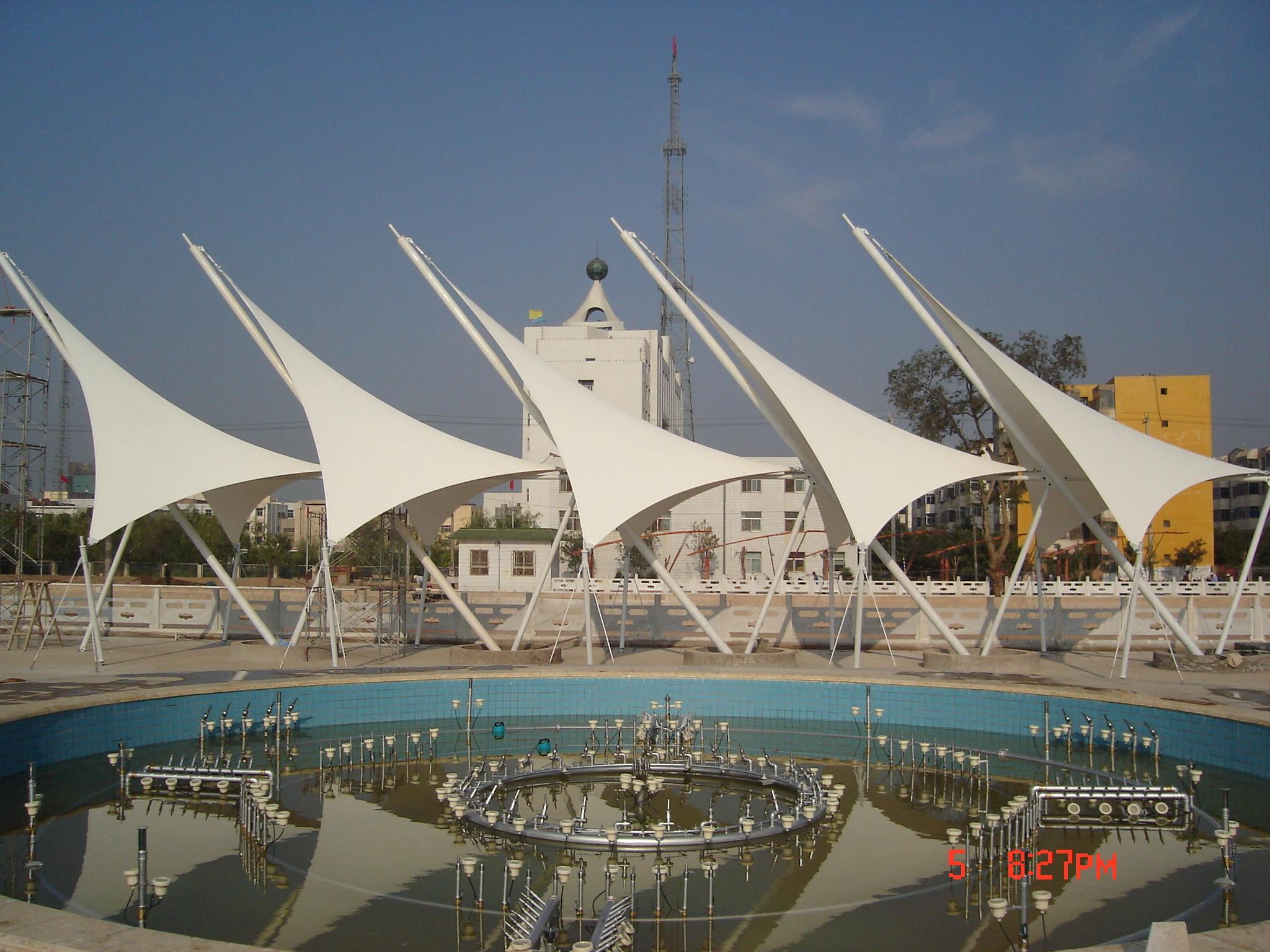 集膜材料及膜结构形式的研究,开发,膜结构建筑的方案规划设计,结构