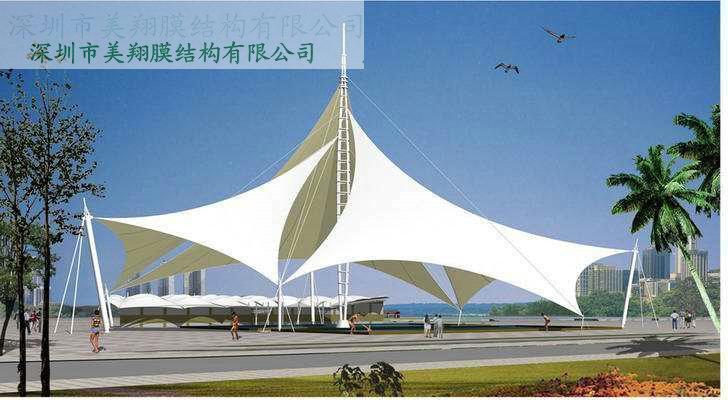 飞机场膜结构,火车站膜结构,码头膜结构,天桥膜结构,车站膜结构,停车