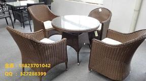 西餐厅桌椅工厂直销 咖啡提桌椅厂家 露台餐厅桌椅