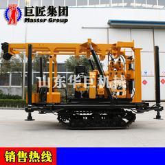 XYD-200型号多功能履带地质勘探钻机 山东华巨钻探机设备