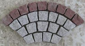 花岗岩扇形地坪铺装 HZM102