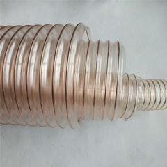 直径400工业通风风管500毫米镀铜钢丝伸缩风管13465188165
