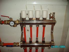 低温热水地板辐射采暖系统