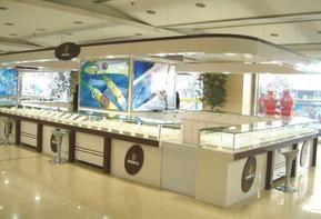 珠宝展示柜效果图/珠宝展柜设计案例