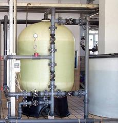 50吨/小时单罐流量控制软化水设备