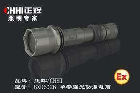 LED手电筒,正辉led防爆手电BXD6026