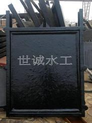 双向止水铸铁闸门铸铁镶铜闸门