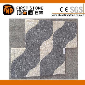 洞石和石灰石马赛克砖FSMT-259
