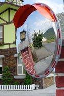 不锈钢凸面镜厂家,道路凸面镜价格,交通安全凸面镜