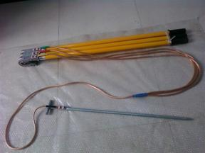 35KV平口螺旋接地线规格
