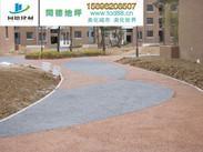 合肥透水混凝土/合肥透水路面/合肥彩色透水混凝土艺术地坪/合肥彩色透水地坪