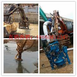 转场方便的挖掘机清淤泵