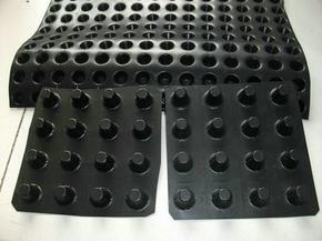 塑料夹层排水板储排水板蓄排水板