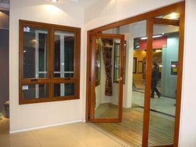 绍兴德式铝包木门窗