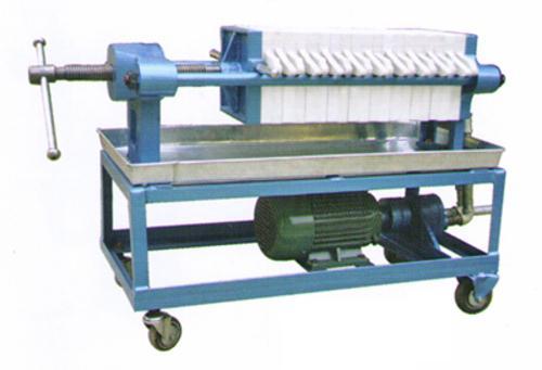 手动拉板液压压紧板框压滤机图片