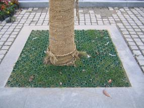 草坪格,塑料草坪砖, 植草圈