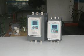 罗卡22KW在线软启动器四行中文液晶屏显示