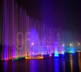 大型水上音乐喷泉