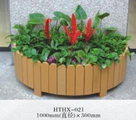 新疆塑木、PVC微发泡花箱、新疆发泡花箱厂家、塑木花箱价格