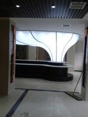 新型装饰室内柔性天花喷绘软膜