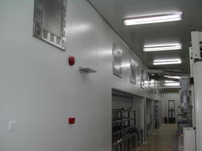 食品饮料净化车间装修,LCM背光源无尘车间设计安装工程